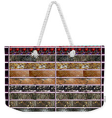 Unique Abstracts Using Multiple Rareearth Stones Crystals Textures And Patterns Weekender Tote Bag