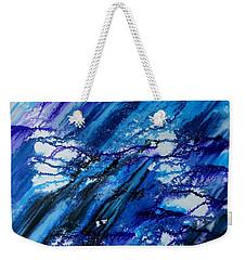 Blue Wind Weekender Tote Bag