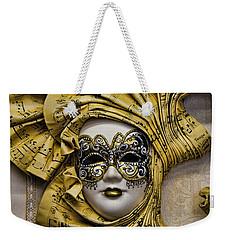 Venetian Carnaval Mask Weekender Tote Bag