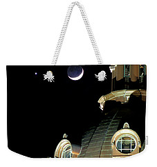Venus And Crescent Moon-1 Weekender Tote Bag