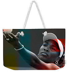 Venus Williams Weekender Tote Bag by Marvin Blaine