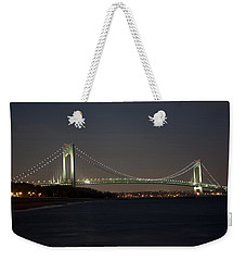 1 Verrazano Narrows Bridge At Twilight Weekender Tote Bag