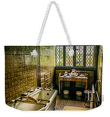 Weekender Tote Bag featuring the photograph Victorian Wash Room by Adrian Evans