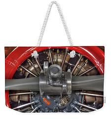 Vultee Bt-13 Valiant Propeller Weekender Tote Bag
