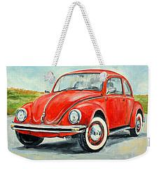Vw Beetle Weekender Tote Bag