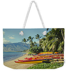 Kenolio Beach Sugar Beach Kihei Maui Hawaii  Weekender Tote Bag