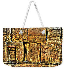 Weekender Tote Bag featuring the photograph Wailing Wall by Doc Braham