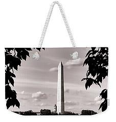 Majestic Washington Monument Weekender Tote Bag