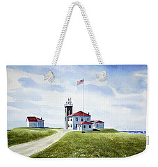 Watch Hill Ri Lighthouse Weekender Tote Bag