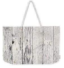 Weathered Paint On Wood Weekender Tote Bag