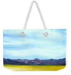 West Texas Landscape Weekender Tote Bag