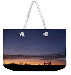West Texas Sunset Weekender Tote Bag