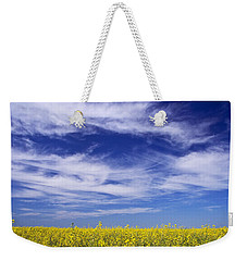 Where Land Meets Sky Weekender Tote Bag by Keith Armstrong