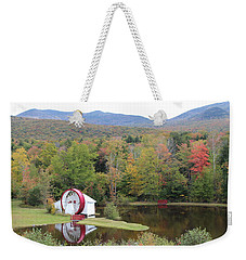 White Mountains Indian Head Nh Weekender Tote Bag