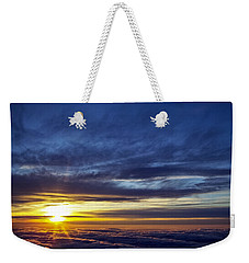 Weekender Tote Bag featuring the photograph Winter Dawn Over New England by Greg Reed