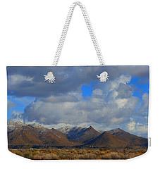 Winter In Golden Valley Weekender Tote Bag
