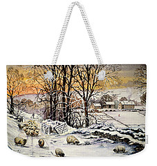 Winter In The Ribble Valley  Weekender Tote Bag