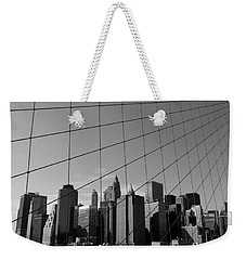 Wired City Weekender Tote Bag