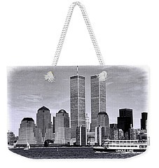 World Trade Center 3 Weekender Tote Bag