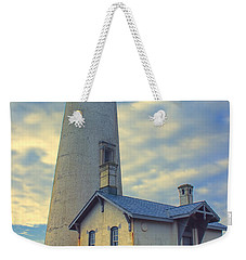 Yaquina Head Lighthouse Weekender Tote Bag by Cathy Anderson