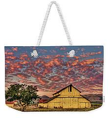 Yellow Barn Weekender Tote Bag