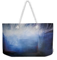Weekender Tote Bag featuring the painting YOD by Carrie Maurer