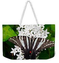 Zebra Swallowtail Weekender Tote Bag