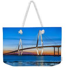 Charleston Arthur Ravenel Bridge Weekender Tote Bag