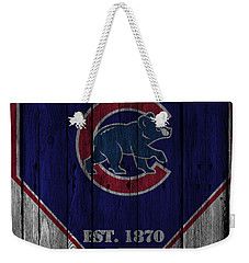 Chicago Cubs Weekender Tote Bag