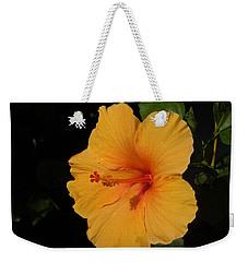 Hibiscus Weekender Tote Bag by Ron Davidson