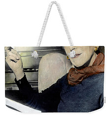 Weekender Tote Bag featuring the photograph Isak Dinesen (1885-1962) by Granger