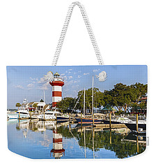 Lighthouse On Hilton Head Island Weekender Tote Bag
