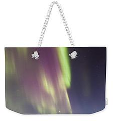Northern Lights Iceland Weekender Tote Bag
