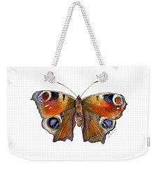 10 Peacock Butterfly Weekender Tote Bag