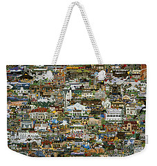 100 Painting Collage Weekender Tote Bag