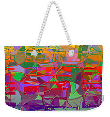 1021 Abstract Thought Weekender Tote Bag