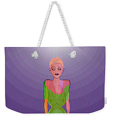 1026 - Lotus Weekender Tote Bag by Irmgard Schoendorf Welch