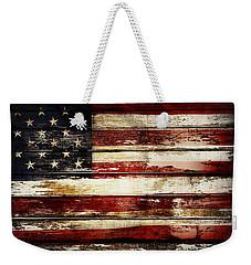 American Flag 33 Weekender Tote Bag