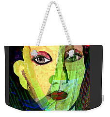 1084 - La  Signora ... Weekender Tote Bag by Irmgard Schoendorf Welch