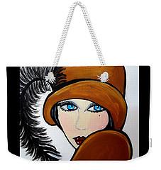 Art Deco  Gail Weekender Tote Bag