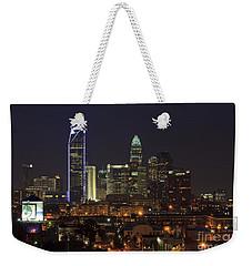 Charlotte Skyline Weekender Tote Bag