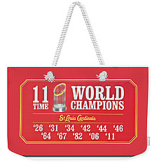 11 Time World Chapion Poster Dsc01106 Weekender Tote Bag