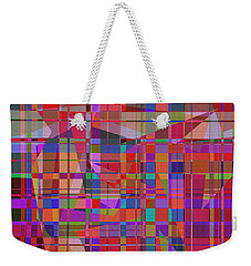 1131 Abstract Thought Weekender Tote Bag