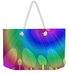 1131 - Anticipation Weekender Tote Bag by Irmgard Schoendorf Welch