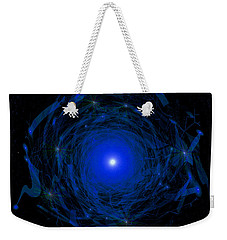 1138 -  Travelling To The Light Weekender Tote Bag by Irmgard Schoendorf Welch