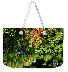 Weekender Tote Bag featuring the photograph Autumn Light by Christiane Hellner-OBrien