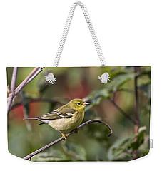 Blackpoll Warbler Weekender Tote Bag