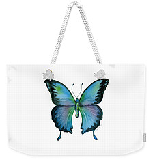 12 Blue Emperor Butterfly Weekender Tote Bag