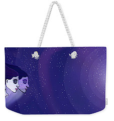 1208 Voyage Through Space And Time Weekender Tote Bag by Irmgard Schoendorf Welch