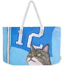 12th Cat #1 Weekender Tote Bag